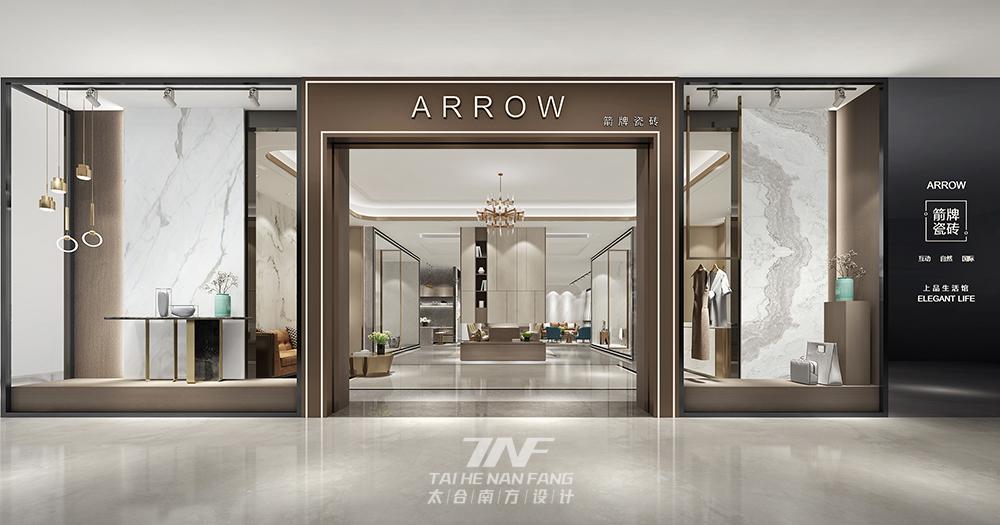 王五平设计 展厅设计 其他图片来自王五平设计在杭州箭牌瓷砖商业展厅设计的分享