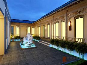 现代 中式 公寓 大户型 复式 跃层 别墅 80后 小资 其他图片来自高度国际姚吉智在四合院200平米现代中式天生优雅的分享