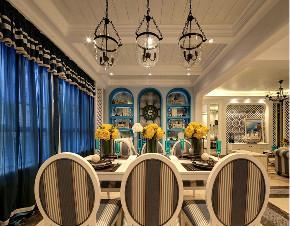 二居 地中海 旧房改造 餐厅图片来自北京今朝装饰在地中海的分享
