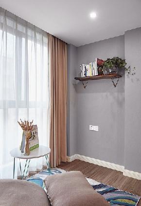 阳台图片来自家装大管家在宁静致远 109平现代北欧舒适3居的分享