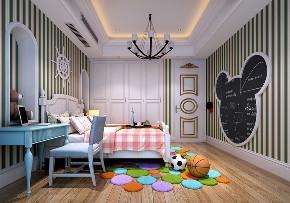 别墅 欧式 儿童房图片来自重庆优家馆装饰在渝北优家馆 欧式的分享