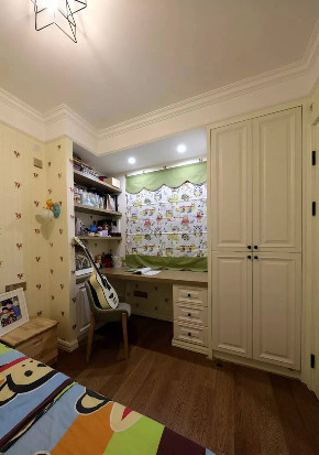 混搭 北欧 儿童房图片来自优家馆装饰官网在89㎡北欧混搭,实用与时尚的结合的分享