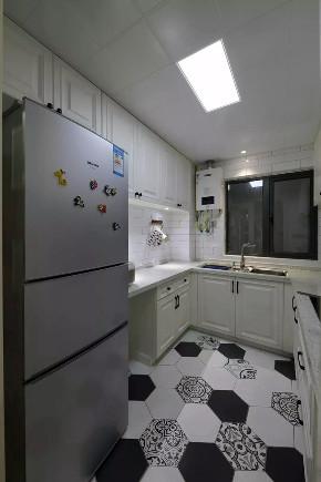 混搭 北欧 厨房图片来自优家馆装饰官网在89㎡北欧混搭,实用与时尚的结合的分享