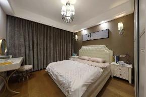 混搭 北欧 卧室图片来自优家馆装饰官网在89㎡北欧混搭,实用与时尚的结合的分享
