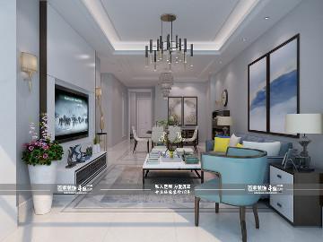 碧桂园凤凰城央墅220平现代风格