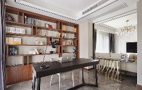 书房图片来自家装大管家在110平港式温暖3居 感觉如沐春风的分享