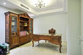 尚东鼎 别墅装修 现代风格 别墅设计师 书房图片来自周峻在尚东鼎别墅完工实景展示的分享