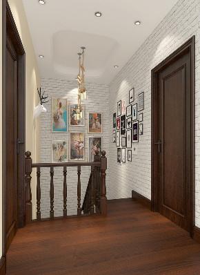 简约 混搭 别墅 白领 收纳 旧房改造 楼梯图片来自林上淮·圣奇凯尚装饰在混搭风别墅-上城郡林上淮的分享