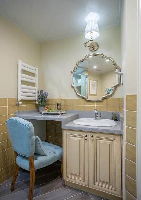 卫生间图片来自家装大管家在120平美式舒适3居 都市慢生活的分享