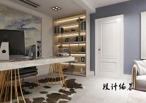 书房图片来自沈阳百家装饰小姜在百家装饰隆河谷美式混搭的分享