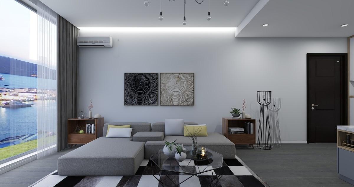 白净的色彩中,黑色调的融入既经典又是永不过时的时髦感,鲜明的色彩对比,营造出利落洁净的视觉效果。