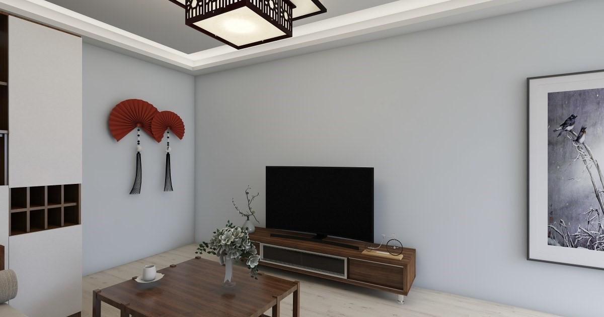 中式风格适合年龄稍大的人群进行居住,软色的家具给浅色的居家环境添加了些许温馨