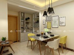 简约 二居 白领 小资 现代简约 餐厅图片来自昆明二十四城装饰集团在盛唐城 现代简约的分享