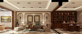 其他图片来自北京高度国际在剑桥郡孔雀城---500平米简欧风格的分享