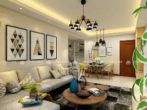 简约 二居 白领 小资 现代简约 客厅图片来自昆明二十四城装饰集团在盛唐城 现代简约的分享