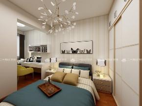简约 二居 白领 小资 现代简约 卧室图片来自昆明二十四城装饰集团在盛唐城 现代简约的分享