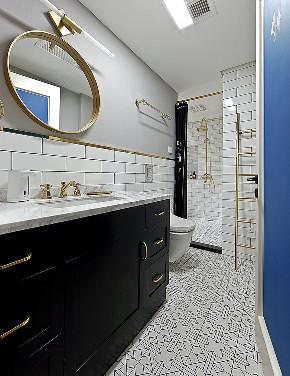 卫生间图片来自家装大管家在89平现代摩登空间 极简主义设计的分享