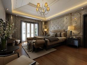 御翠园 别墅装修 欧式古典 别墅设计师 卧室图片来自周峻在御翠园别墅装修欧式古典风格设计的分享