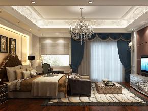 皇都花园 别墅装修 法式古典 别墅设计师 卧室图片来自周峻在皇都花园350平别墅古典法式风格的分享