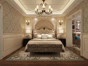 红醍半岛 别墅装修 新古典风格 别墅设计师 卧室图片来自周峻在红醍半岛别墅项目装修设计案例的分享