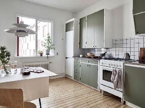简约 三居 北欧 厨房图片来自言白设计在北欧绿的分享