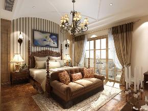 金茂逸墅 别墅装修 美式古典 别墅设计师 腾龙别墅设 卧室图片来自周峻在崇明岛金茂逸墅美式风格设计案例的分享