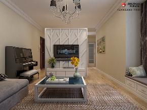 简约 三居 旧房改造 80后 小资 收纳 客厅图片来自装家美在130平米现代简约设计风格的分享