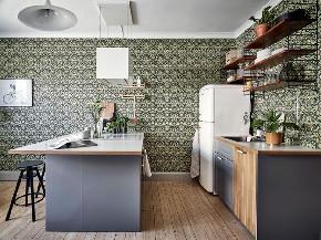 简约 三居 北欧 餐厅图片来自言白设计在北欧绿的分享