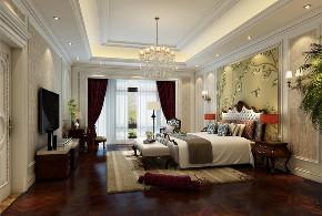 昆玉九里 别墅装修 欧式古典 别墅设计师 卧室图片来自周峻在昆玉九里别墅欧式古典风格设计的分享