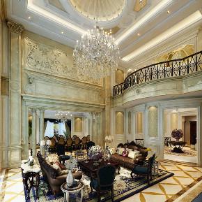 昆玉九里 别墅装修 欧式古典 别墅设计师 客厅图片来自周峻在昆玉九里别墅欧式古典风格设计的分享