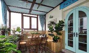 阳台图片来自家装大管家在美到极致 128平美式简约时尚3居的分享