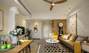 客厅图片来自家装大管家在美到极致 128平美式简约时尚3居的分享