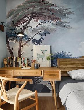 卧室图片来自家装大管家在美到极致 128平美式简约时尚3居的分享