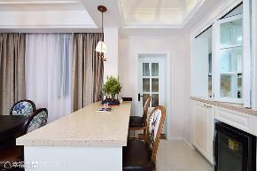 简美 亿陶装饰 幸福空间 美式 简约 旧房改造 80后 小资 收纳 厨房图片来自幸福空间在重拾美好生活 百平大宅变身记的分享