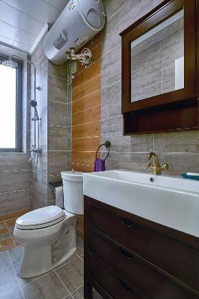 沙坪坝 白领 鹏友百年 私人订制 全案设计 美式 卫生间图片来自鹏友百年装饰在100㎡简约美式风的分享