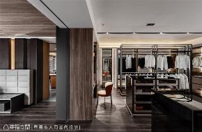 现代风格 装修设计 小资 衣帽间图片来自幸福空间在340平, 细节堆砌人文魅力的分享