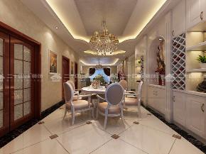 欧式 别墅 奢华 华贵 贵气 80后 高富帅 白富美 未来家 餐厅图片来自二十四城装饰(集团)昆明公司在惠景园  欧式奢华风的分享
