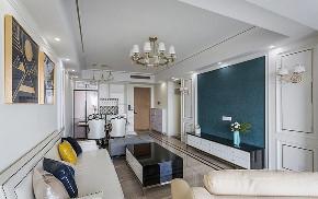 客厅图片来自家装大管家在89平现代温馨家 处处洋溢实用的分享