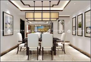 新中式 中式 古典 舒适 定制家装 未来家 餐厅图片来自昆明二十四城装饰集团在伟龙花园 新中式的分享