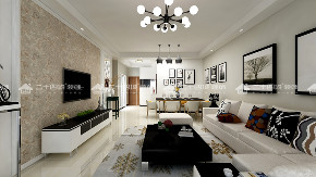 简约 现代简约 三居 白领 小资 收纳 定制家装 舒适 温馨 客厅图片来自昆明二十四城装饰集团在实力壹方城 现代简约的分享