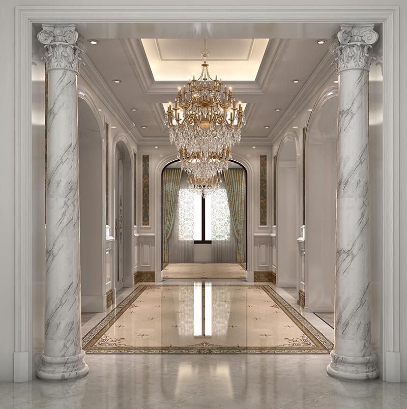 富力湾 别墅装修 欧式古典 别墅设计师 上海别墅 客厅图片来自孔继民在昆山富力湾独栋别墅设计案例展示的分享