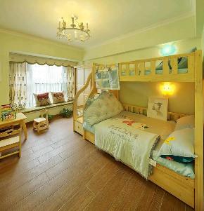 欧式 装修设计 大业美家 儿童房图片来自大业美家 家居装饰在中冶德贤138㎡欧式装修设计案例的分享