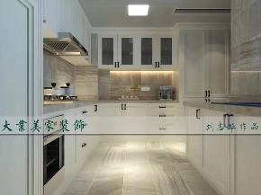 美式 厨房图片来自大业美家 家居装饰在现代美式风格186㎡装修案例的分享
