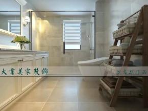 美式 卫生间图片来自大业美家 家居装饰在现代美式风格186㎡装修案例的分享