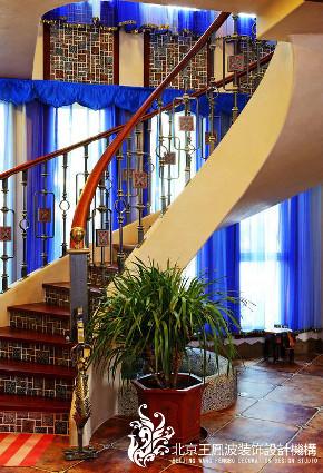 楼梯图片来自王凤波设计机构在蓝色蒙古高原的分享