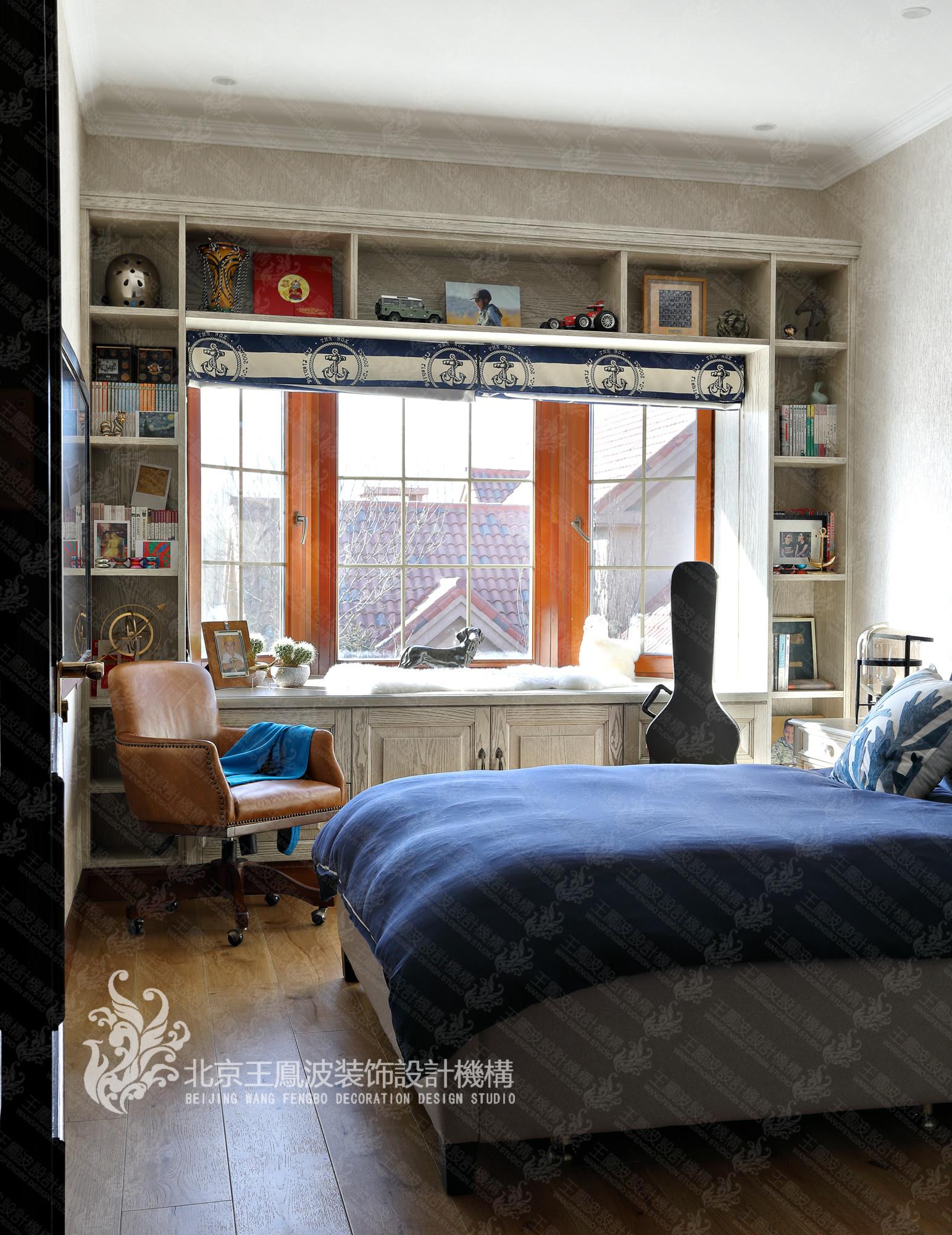别墅 美式风格 儿童房图片来自王凤波设计机构在春风十里不如你的分享