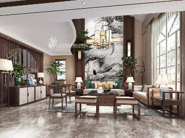 新中式别墅设计提香草堂