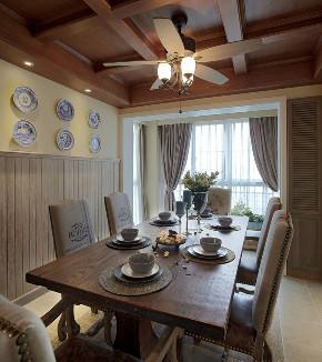 田园 旧房改造 小资 餐厅图片来自北京今朝装饰在田园三居室的分享