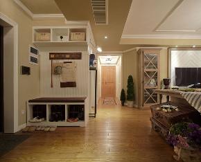 田园 旧房改造 小资 衣帽间图片来自北京今朝装饰在田园三居室的分享