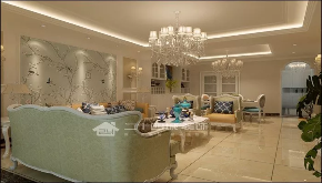 欧式 白领 80后 小资 混搭 欧式古典 高富帅 白富美 收纳 客厅图片来自昆明二十四城装饰集团在东盟森林 欧式古典的分享